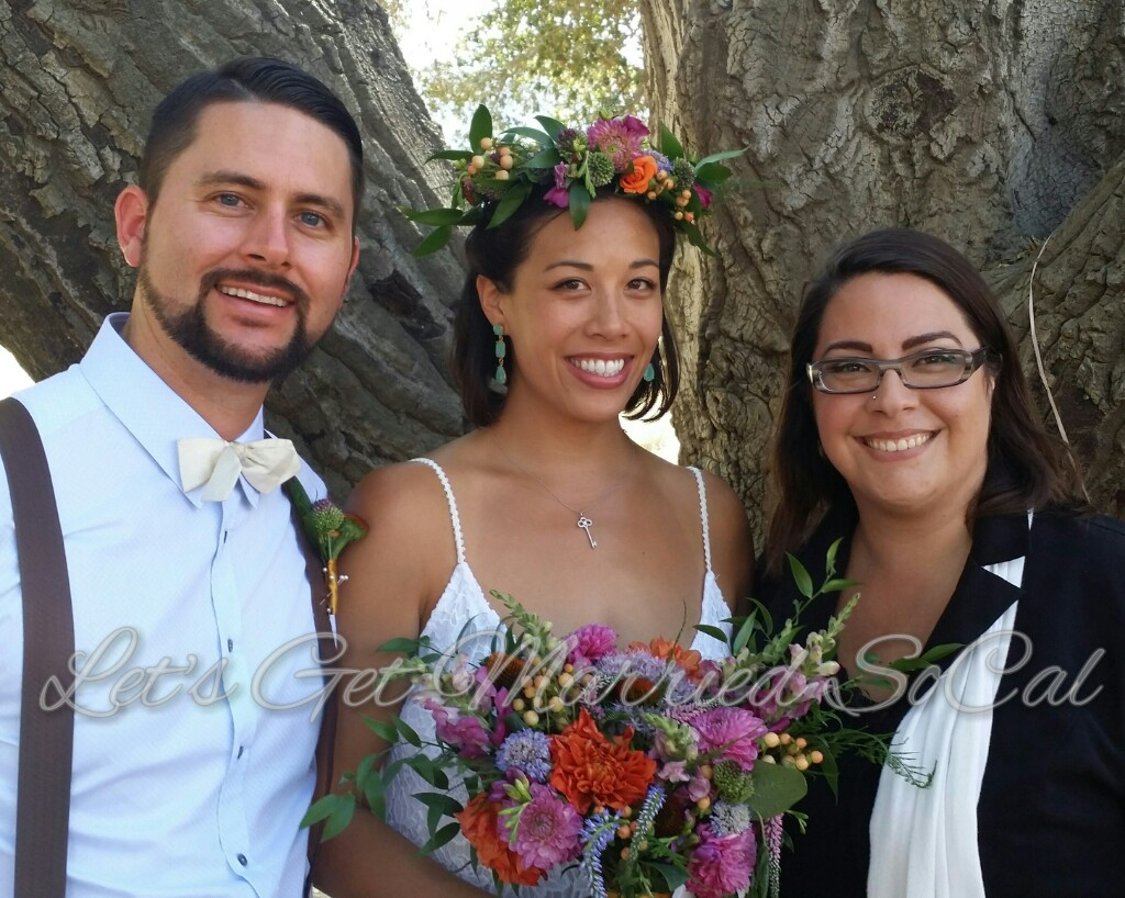 Malibu California elopement