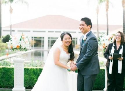 best orange county wedding officiant