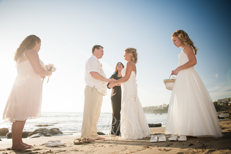 Elope in Laguna Beach with Let's Get Married by Marie