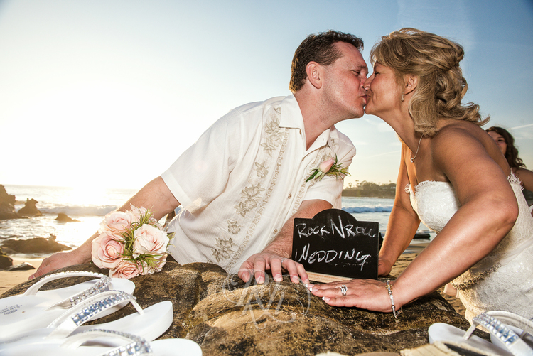 Elope in Laguna Beach for a roll n' roll wedding