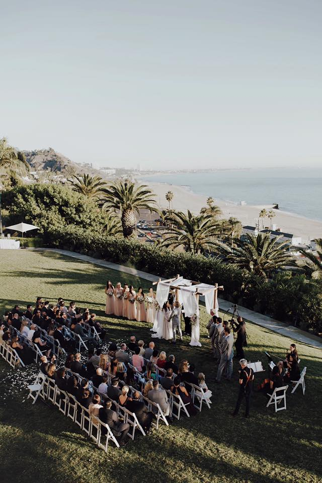 Minister Marie Bel Air Bay Club wedding officiant
