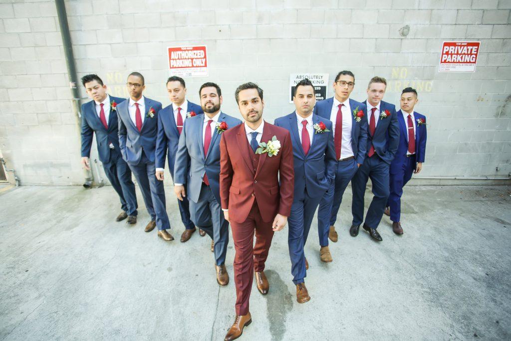 vintage urban groom style