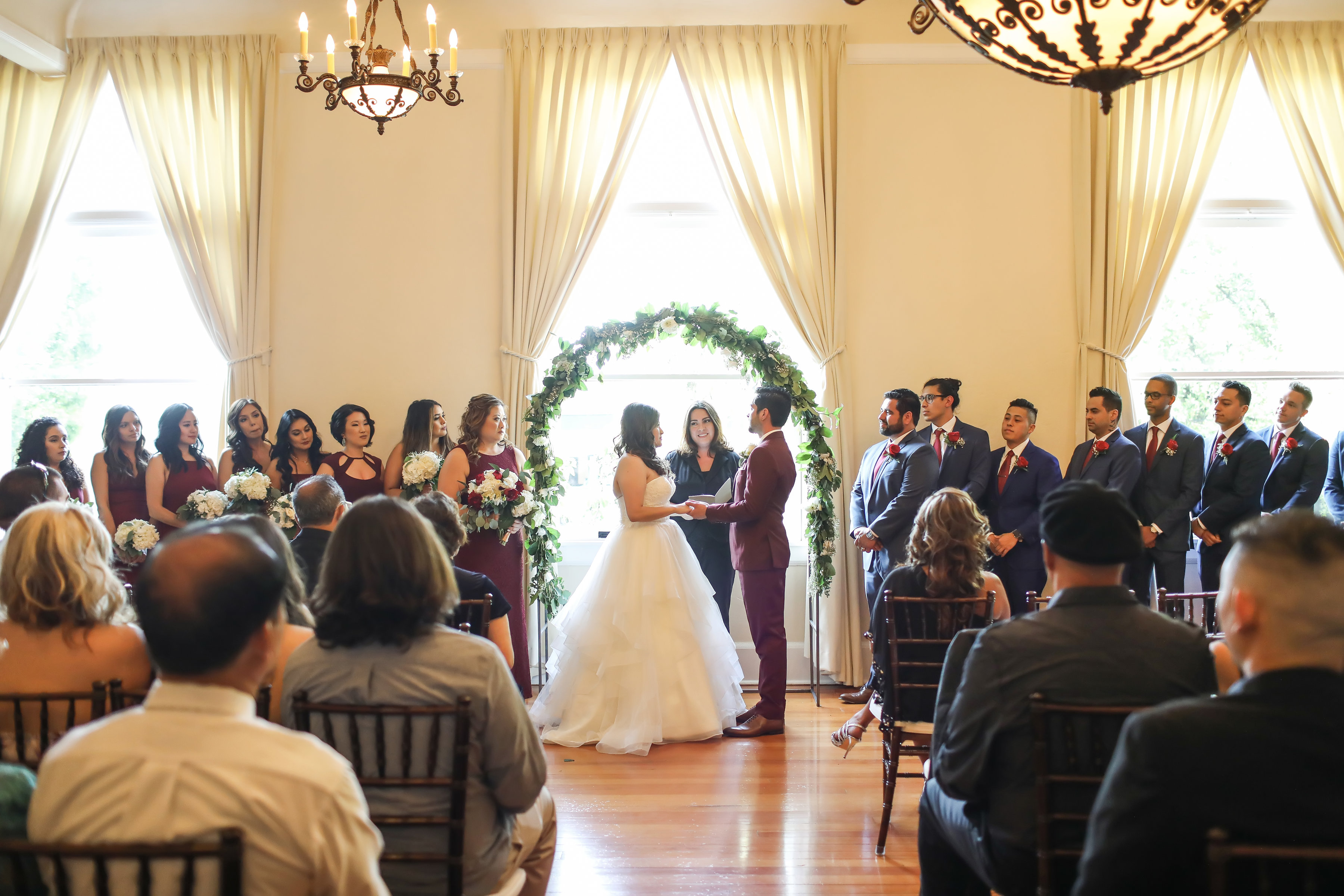 best SoCal wedding officiant Let's Get Married by Marie