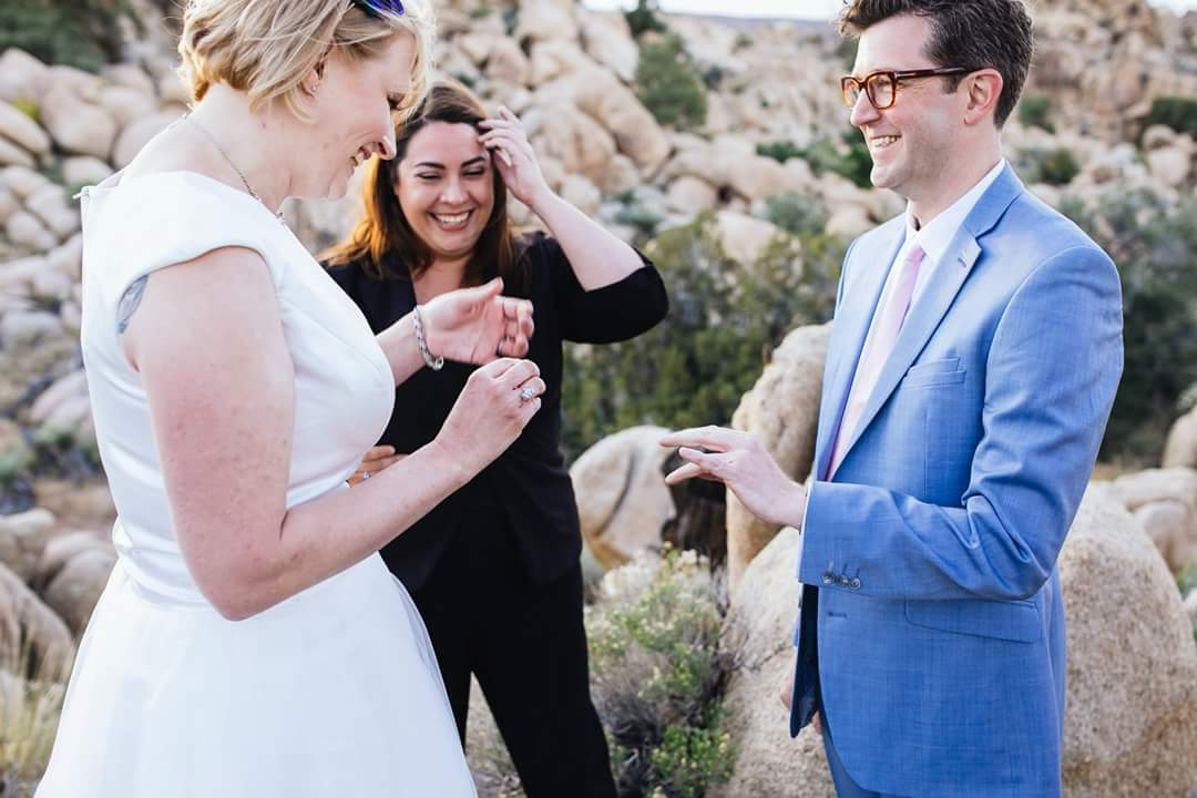 Joshua Tree Wedding Officiant Lets Get Married By Marie
