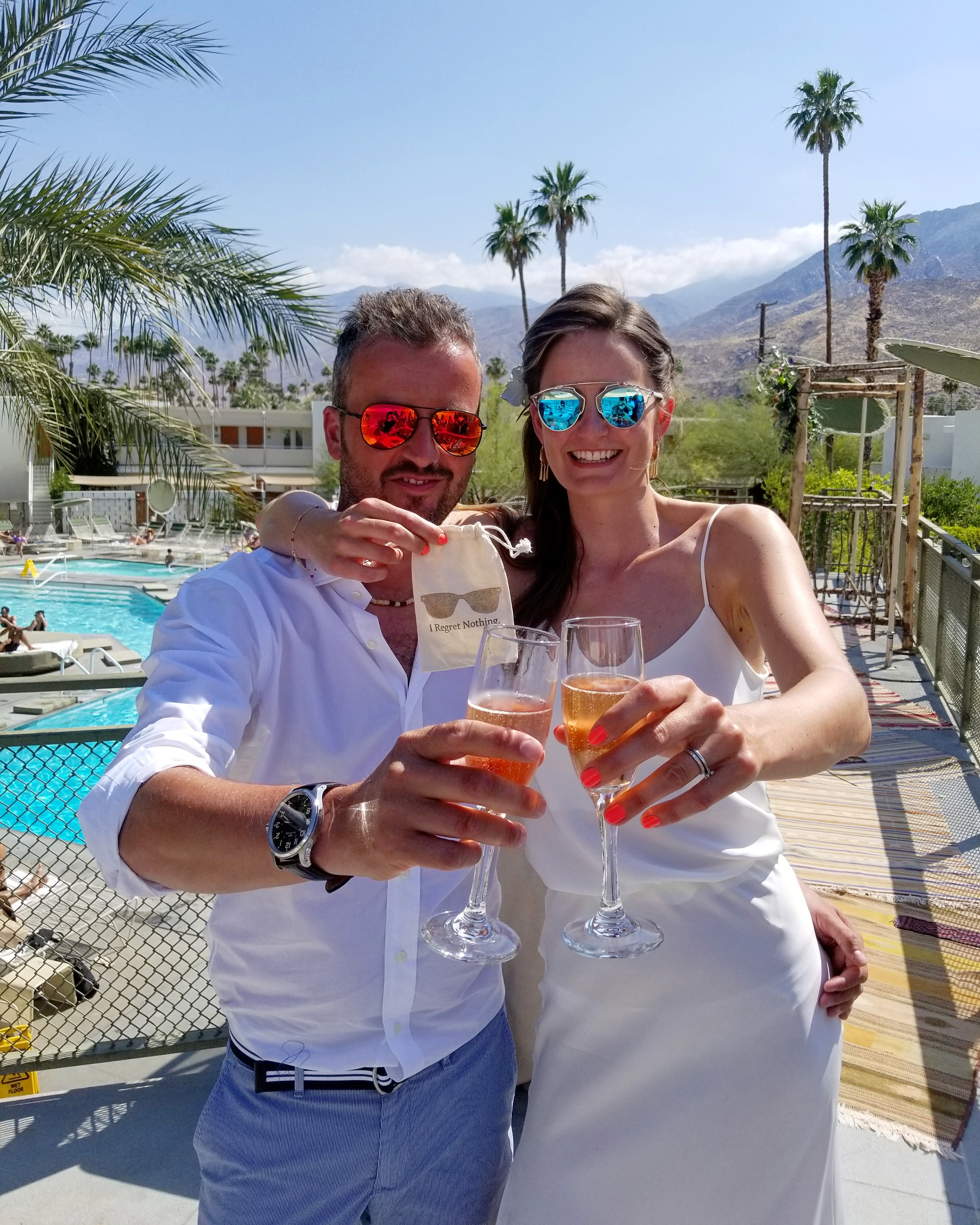 fun palm springs wedding officiant
